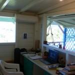 Cette pièce sert actuellement de bureau.